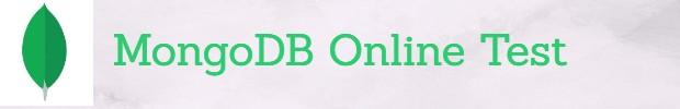 MongoDB Questions Online test