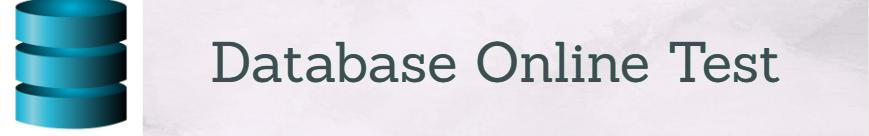 database Online test