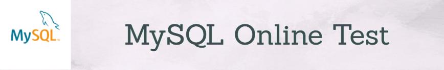 Mysql Questions Online Test