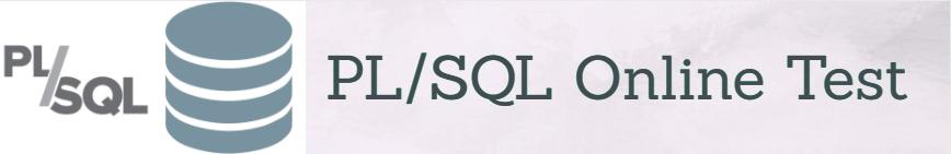 PL-SQL Questions Online Test